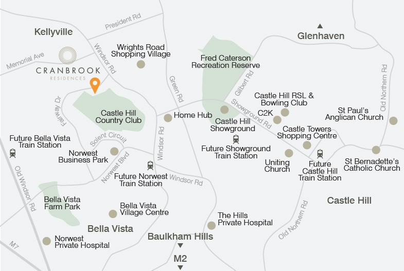 Cranbrook_Website_Map